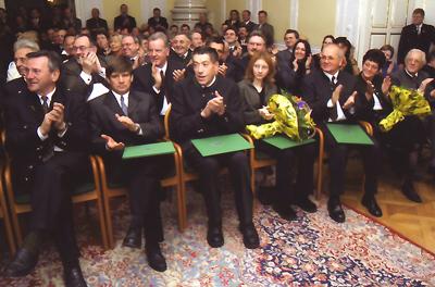 PreisträgerInnen 2001