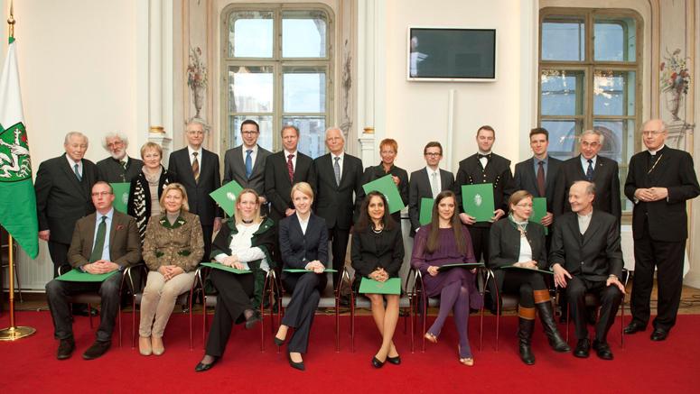 Josef-Krainer-PreisträgerInnen 2013