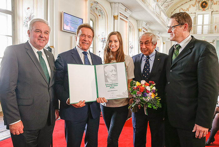 Internationaler Josef-Krainer Preis 2017